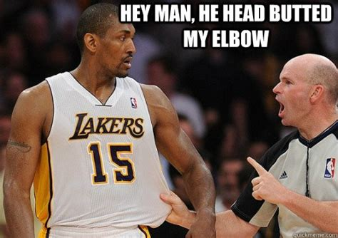 Ron Artest Meme - nba meme metta world peace memes quickmeme