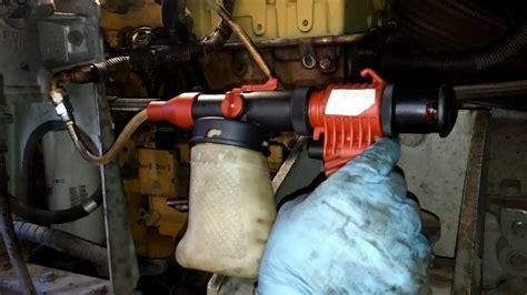 prime  diesel engine   priming pump prime