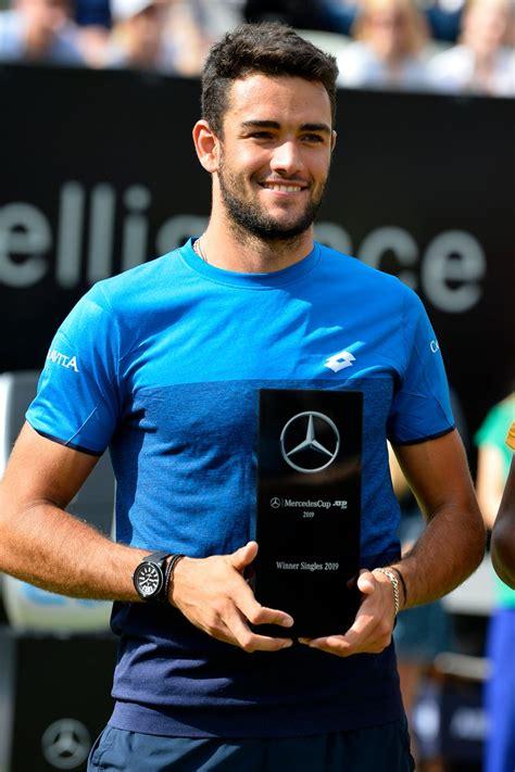 Matteo berrettini (born 12 april 1996) is a tennis player who competes internationally for italy. Matteo Berrettini se adjudica Stuttgart   Tango Diario