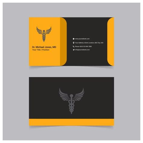 card templates modern clean and creative business card vector template