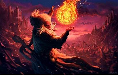 Wizard Abstract Fantasy Wallpapers Desktop Backgrounds Trippy