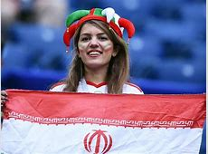 Football fans supporting Iranian women during World Cup