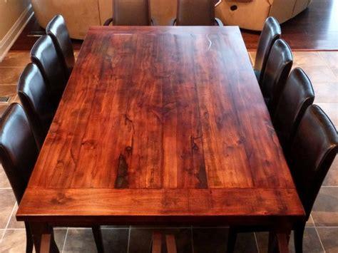 Reclaimed Wood Dining Table Diy  New Split Level House
