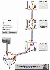 Double Switch Wiring Diagram Uk