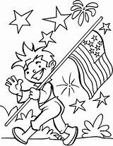 Coloring July 4th Fireworks Pages Fourth Printable Parade Flag Boy Sheets Colouring Patriotic Printables Bestcoloringpages Th Easy Crafts Ecoloringpage Colors sketch template