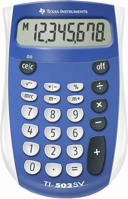 Calculator Basic Function Texas Instruments Ti Sv