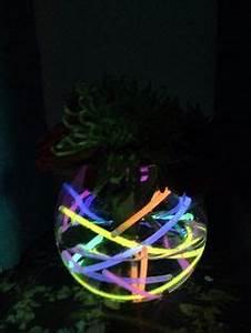 neon centerpieces White Neon table