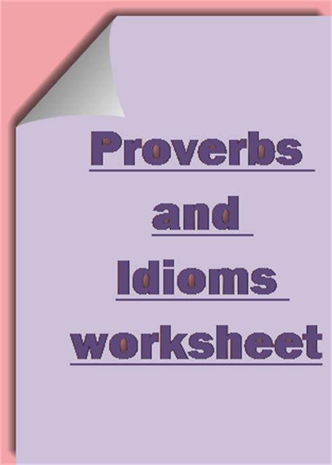 english idioms  proverbs   english ncert