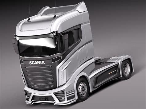 scania   vehicle  model obj ds fbx cd lwo lw