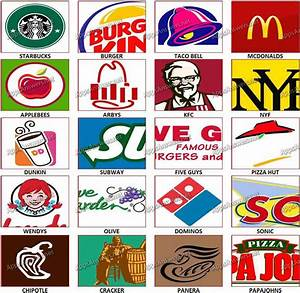 7 Best Images of Restaurant Logos And Names - Brand Logos ...