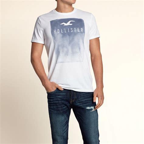 hype hollister  shirt mens graphic print  shirt genuine