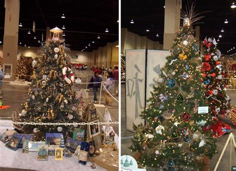 lighthouse tree toppers 2004 festival of trees gallery