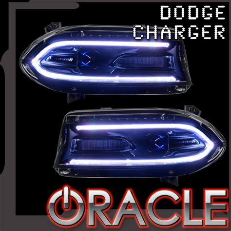 dodge charger oracle colorshift drl headlight