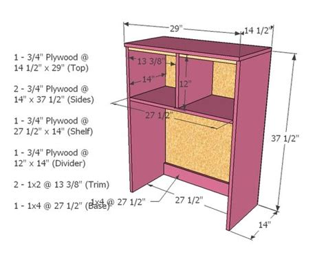 Corner Computer Desk With Hutch Plans by The World S Catalog Of Ideas