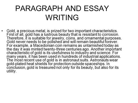 Paragraph And Essay Writing  Ppt Video Online Download