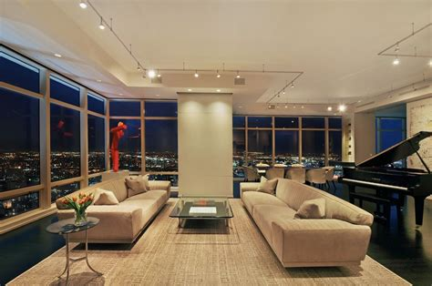 5 Posh Apartment Interiors : Stylish Manhattan Apartment At The 42th Floor