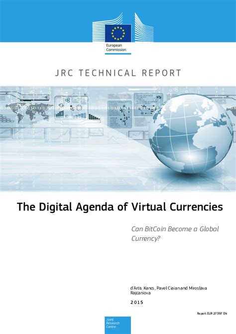 A currency must be stable to be useful. (PDF) The Digital Agenda of Virtual Currencies Can BitCoin Become a Global Currency | aykut ...