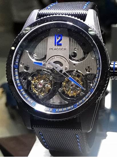 Peacock Tourbillon Chinese Double Watches Watchmaking Charting