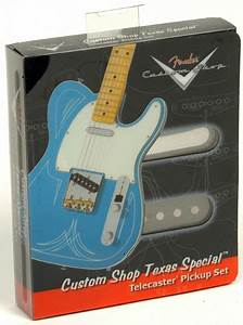 Fender Tele Pickups  Custom Shop Texas Special Telecaster