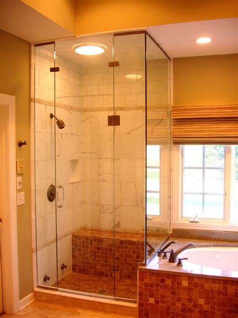 small bathroom bathroom with separate bath and shower