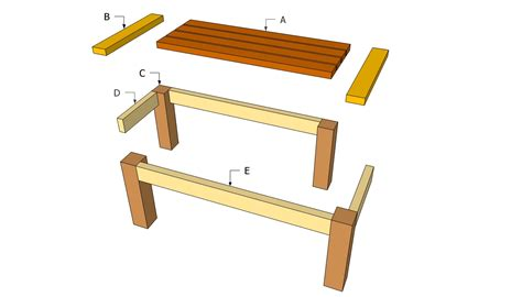 woodwork plans for outdoor wood tables pdf plans