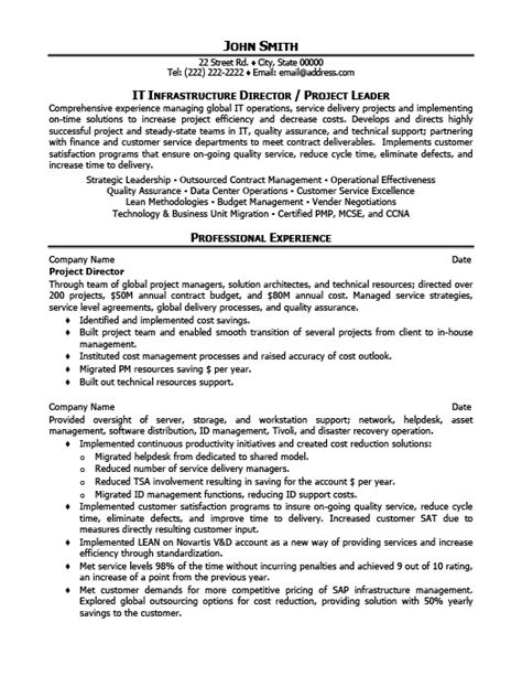 Director Of Engineering Resume Template by Project Director Resume Template Premium Resume Sles