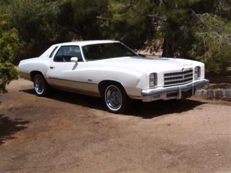 1976 Chevrolet Monte Carlo by 1976 Chevrolet Monte Carlo For Sale Golden Valley Arizona