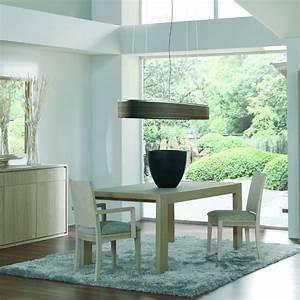Petite Table Salle À Manger : table salle manger contemporaine avec rallonge brin d 39 ouest ~ Melissatoandfro.com Idées de Décoration