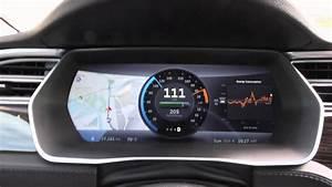 Tesla Model S Driving Dashboard - YouTube