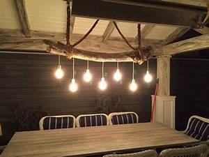 Luminaire En Bois Flotté : lampe bois flott lampadaire et suspension par la nature ~ Teatrodelosmanantiales.com Idées de Décoration