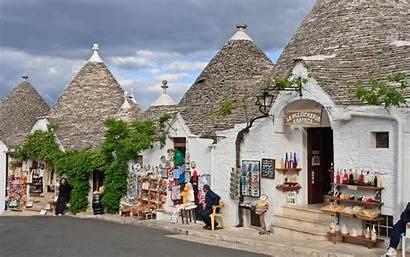 Italian Villages Alberobello Italy Visit Wallpapers Towns