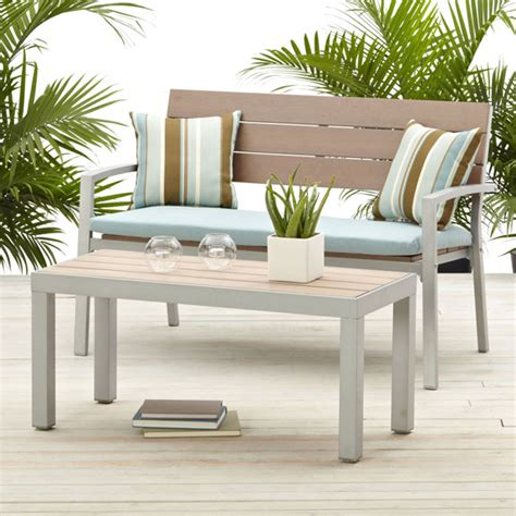 Strathwood Patio Furniture Assembly by Strathwood Brook 2 Seater Bench Patio Furniture