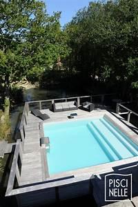 Piscine Semi Enterrée Coque : piscines semi enterr es piscinelle ~ Melissatoandfro.com Idées de Décoration