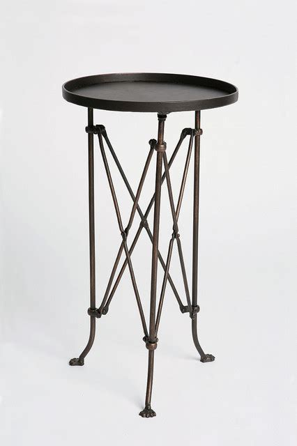 small metal accent table metal accordion side table eclectic side tables and