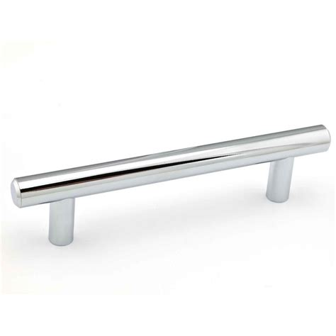 Kitchen Cabinet Hardware Richelieu by Richelieu Hardware Contemporary 3 25 32 In 96 Mm Chrome