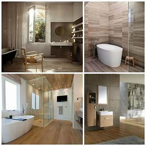 carrelage salle de bain imitation bois pour un decor With salle de bain carrelage bois