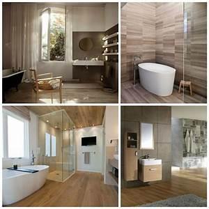 carrelage aspect bois salle de bain 20170602170856 With carrelage salle de bain bois