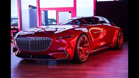 Maybach Car : Vision Mercedes-maybach 6 Concept Car First Look