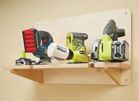 cordless drill charging station woodworking project