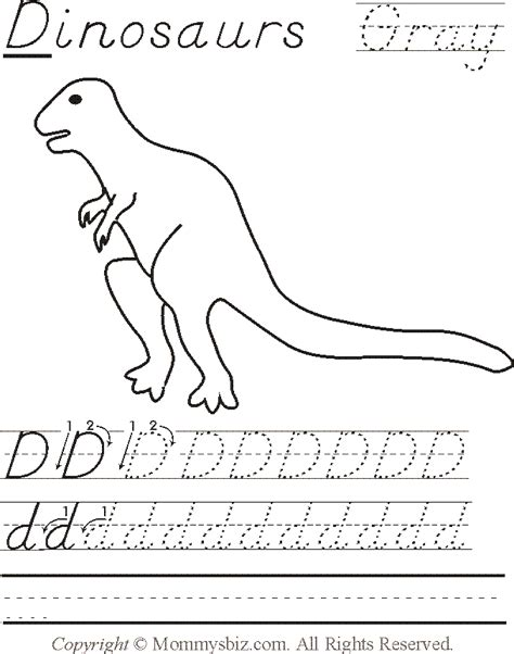 teaching and learning with technology page 2 442 | mommysbiz d dinosaurs gray preschool worksheet by danahaynes d6rfrd4