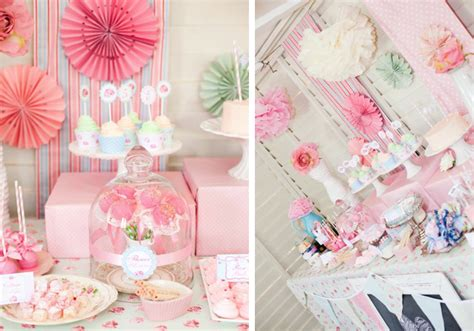 shabby chic princess kara s party ideas shabby chic princess girl pink vintage party planning ideas