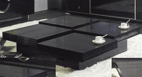 Black Coffee Table Design Images Photos Pictures