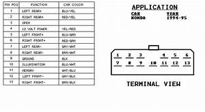 96 Honda Civic Radio Wiring Diagram