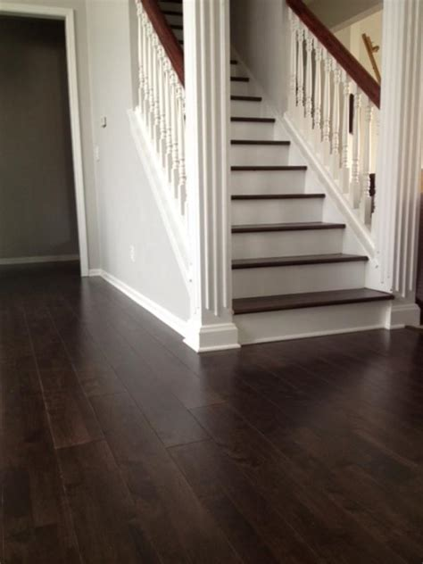 featured floor espresso hevea hardwood lumber