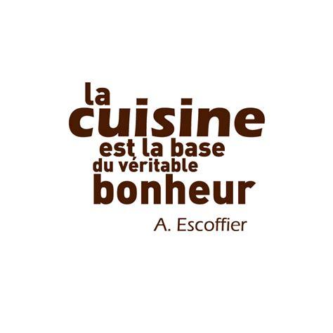 stickers texte cuisine sticker mural de cuisine décoration avec citation de