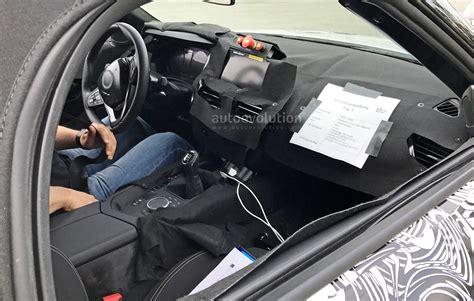 2018 Bmw Z4 S20i Interior Spyshots Reveal Specs And 6