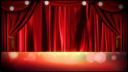 Stage Backgrounds Theater Curtain Curtains Background Cool
