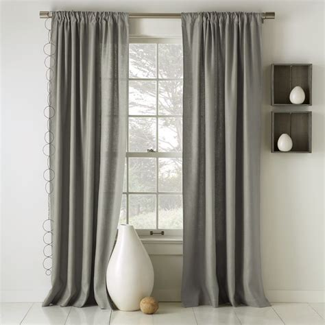 gray linen curtains bedroom bedroom