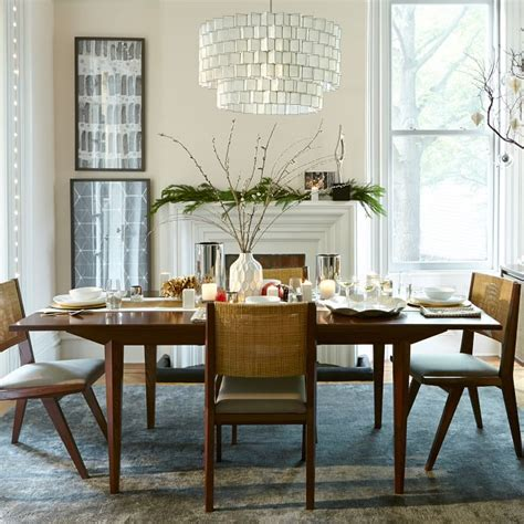 Modern Long Narrow Dining Table For Small Spaces Homes