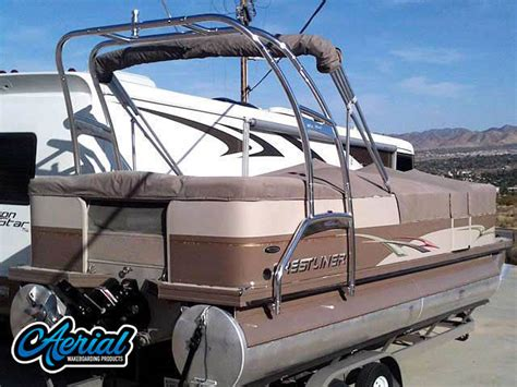 Wakeboard Tower Pontoon Boat by F250 Wakeboard Towers Aftermarket Accessories